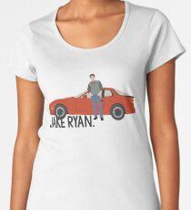 Sechzehn Kerzen - Jake Ryan Frauen Premium T-Shirts
