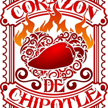 Chipotle LOVE, My heart is made of Chipotles! by PeperIndustries