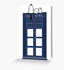 Snoopy / Dr. Who Greeting Card