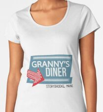 Granny's Diner - Once Upon a Time Women's Premium T-Shirt