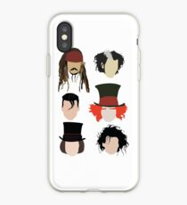 Johnny Depp - Famous Characters iPhone Case
