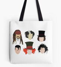 Johnny Depp - Berühmte Charaktere Tote Bag