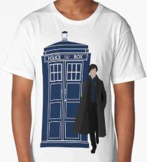 Dr. Who / Sherlock Long T-Shirt
