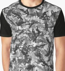 Silly walks camouflage Graphic T-Shirt