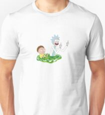 Rick & Morty - Flipping Off T-Shirt