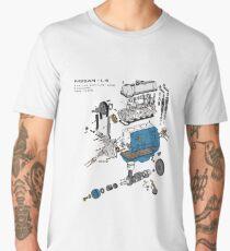 Nissan L4 Exploded View Men's Premium T-Shirt