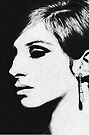 Barbra: Funny Girl [Pencil Sketch] by #PoptART products from Poptart.me