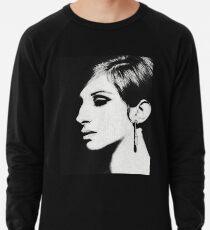 Barbra: Funny Girl [Pencil Sketch] Lightweight Sweatshirt