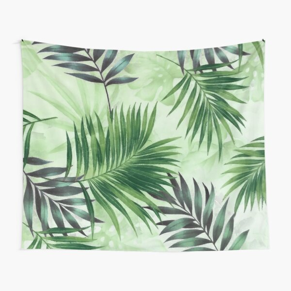 Palm leaves IV Tapestry