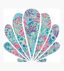 Lilly Pulitzer Sea Shell Photographic Print