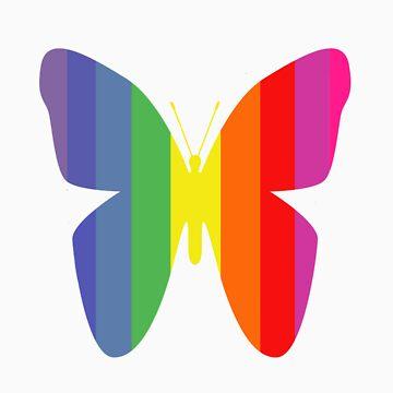 Butterfly Rainbow by missnmn