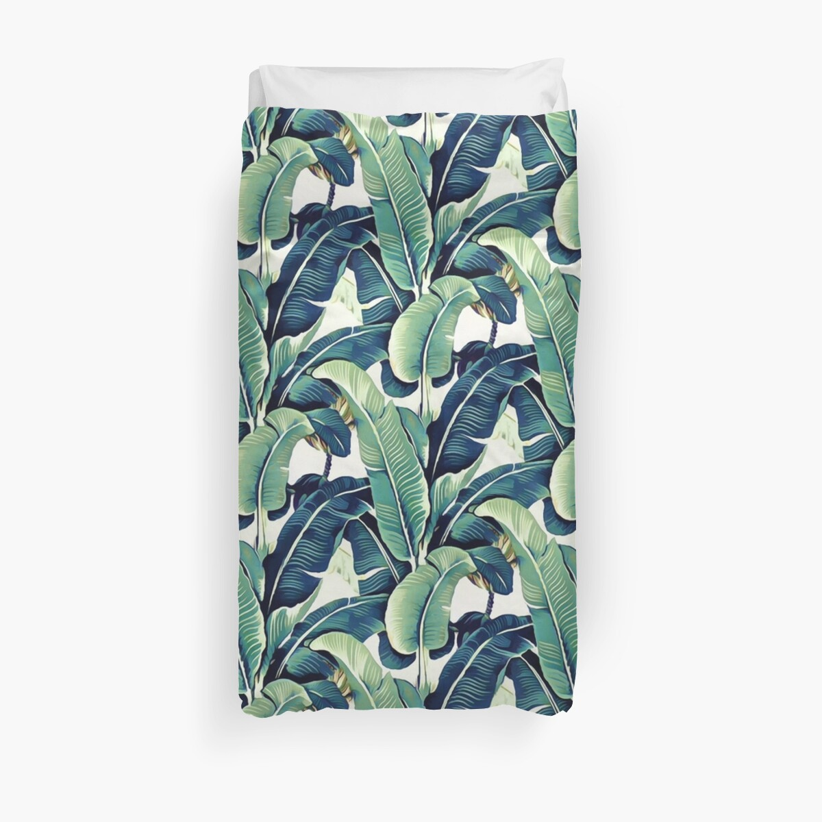 Quot Banana Leaves Quot Duvet Covers By Catyarte Redbubble