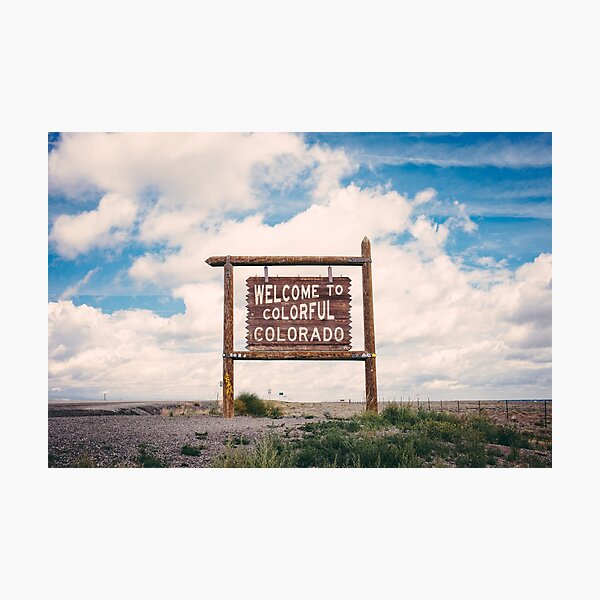 Welcome to Colorful Colorado Photographic Print