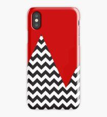 Chevron Mountains ;;;;;) iPhone Case/Skin