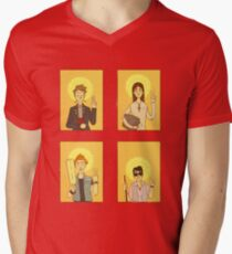 Saint Young Ones V-Neck T-Shirt