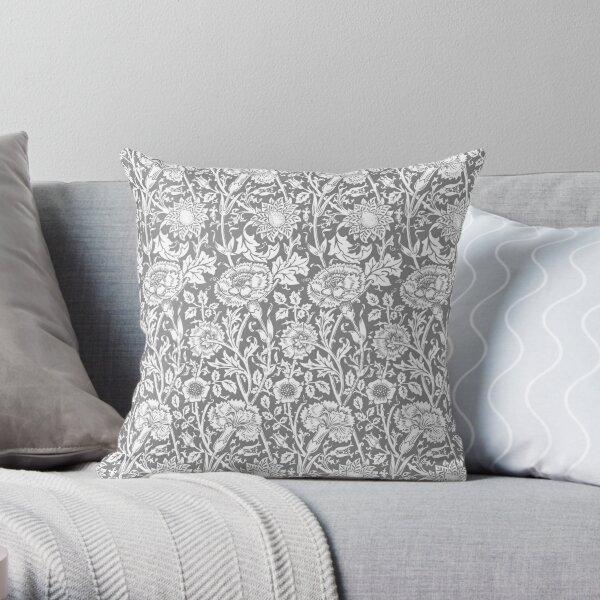 William Morris Tulipán Tela Diseñador Funda De Cojín Almohada Azul Índigo