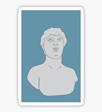 Roman Bust  Sticker