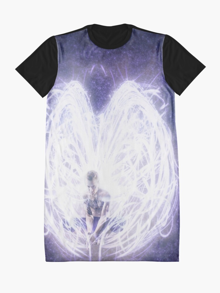 Alternate view of I Felt It Was Glory Graphic T-Shirt Dress