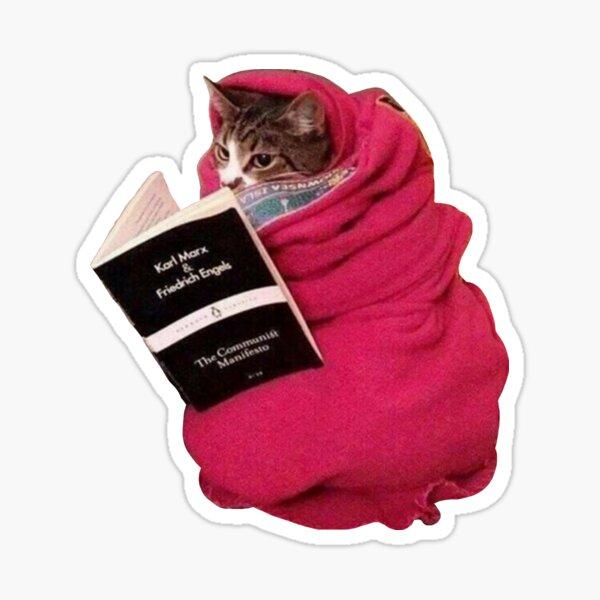 Communist Cat Sticker