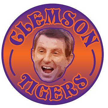 Clemson Tigers Badge by davisluna15