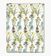 Vintage Floral Pattern | No. 2B | Irises iPad Case/Skin