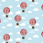 Hot Air Balloons by KathrinLegg
