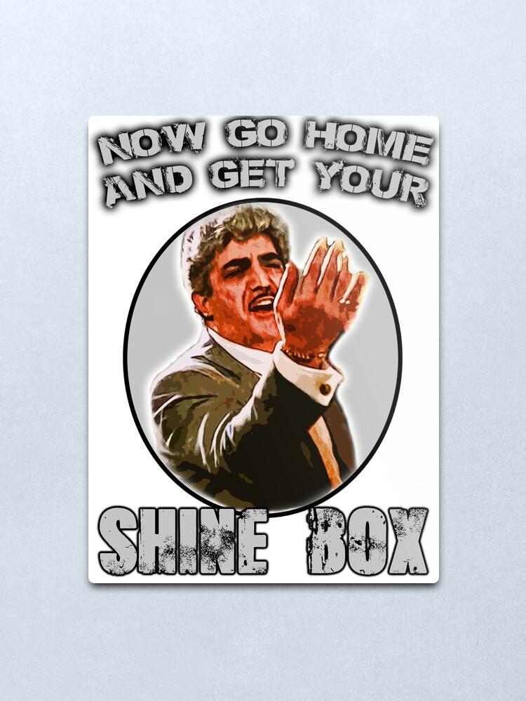 Alternate view of Shine Box  Metal Print