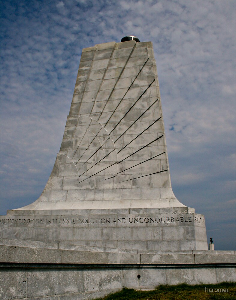 Wright Brothers Memorial by hcromer