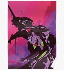 EVA 01 - Evangelion T-shirt / Poster / Phone case / Mug Poster