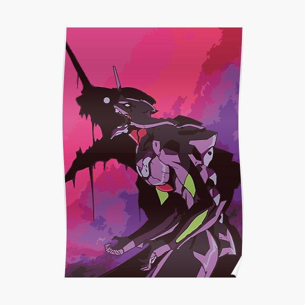 EVA 01 - Evangelion T-shirt / affiche / étui de téléphone / Mug Poster