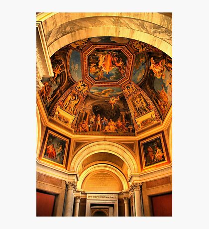 Vatican Ceiling Photographic Print