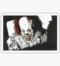 Pennywise Projection Sticker