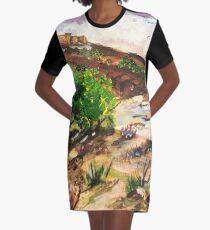 Magaliesburg landscape Graphic T-Shirt Dress