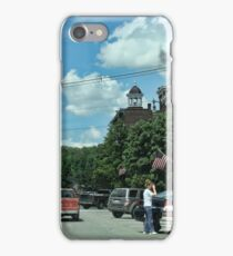 A Typical American Town iPhone Case/Skin