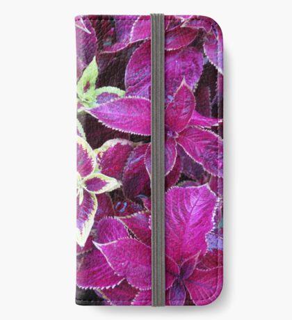 Herbst Coleus iPhone Flip-Case