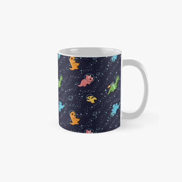 Dinosaurs In Space Classic Mug