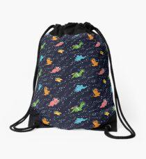 Mochila saco Dinosaurios en el espacio