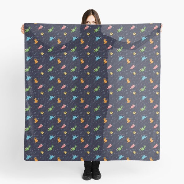 Dinosaurs In Space Scarf