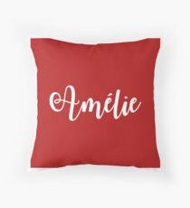 Amelie Broadway Musical Throw Pillow