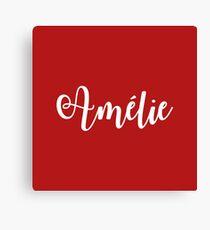 Lienzo Amelie Broadway Musical