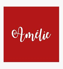 Amelie Broadway Musical  Photographic Print