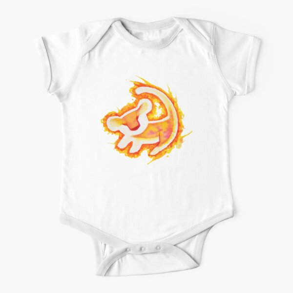 Simba Short Sleeve Baby One-Piece