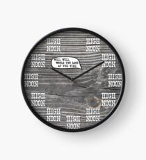 High Noon Clock Clock