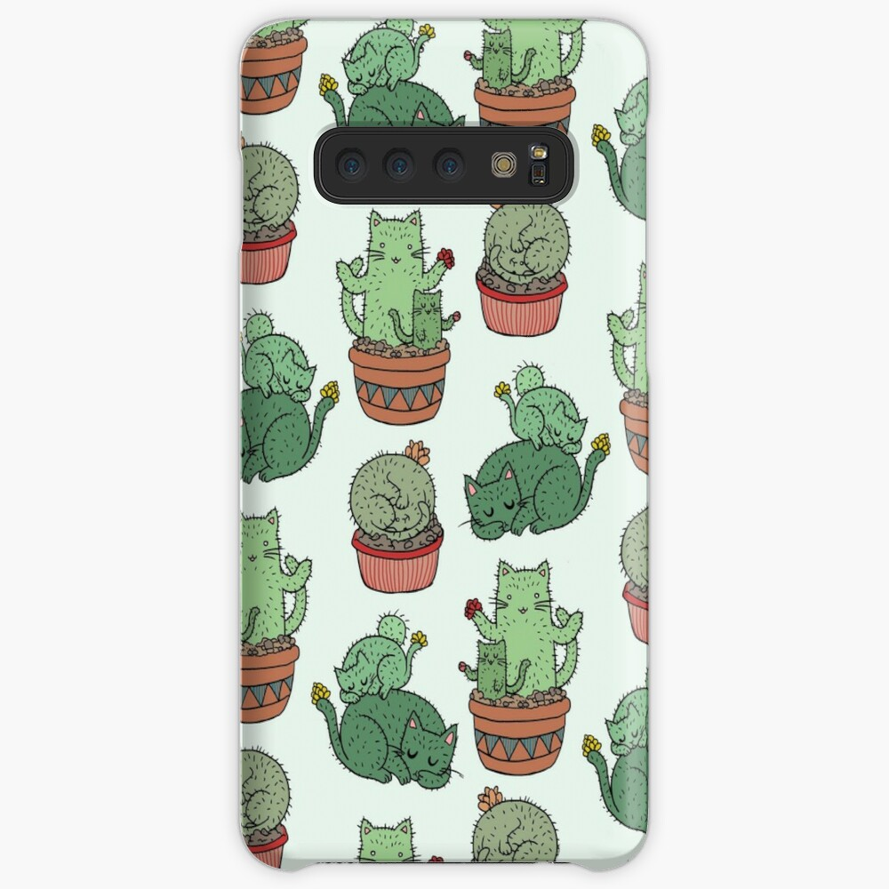 Cactus Cats Case & Skin for Samsung Galaxy