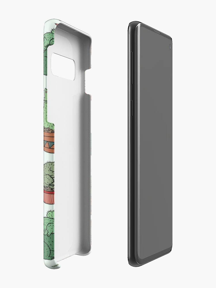 Alternate view of Cactus Cats Case & Skin for Samsung Galaxy