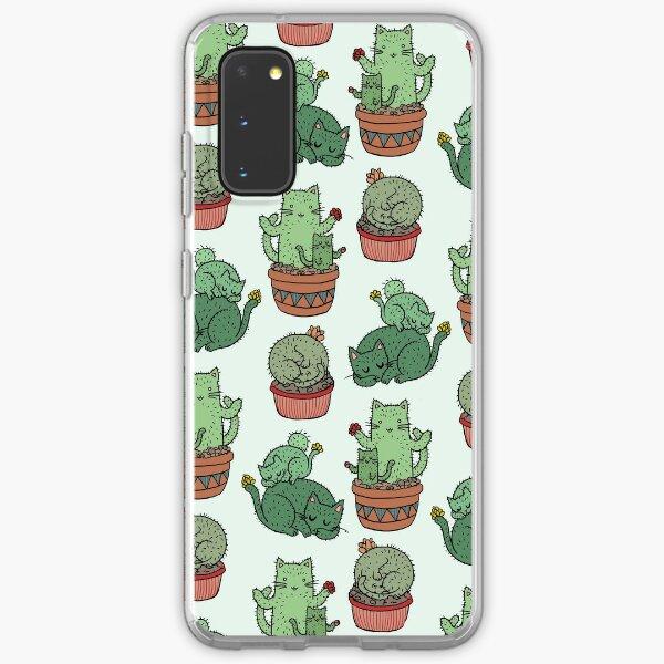 Cactus Cats Samsung Galaxy Soft Case