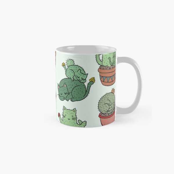 Cactus Cats Classic Mug