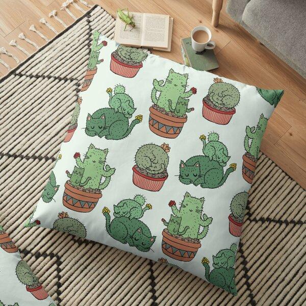 Cactus Cats Floor Pillow
