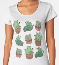 Cactus Cats Women's Premium T-Shirt