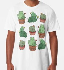 Kaktus Katzen Longshirt